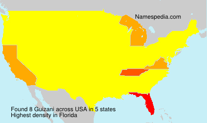 Surname Guizani in USA
