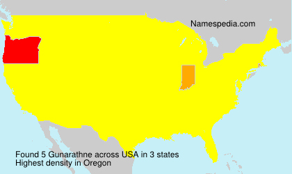 Surname Gunarathne in USA