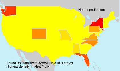 Surname Haberzettl in USA