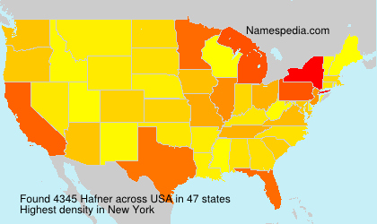 Surname Hafner in USA