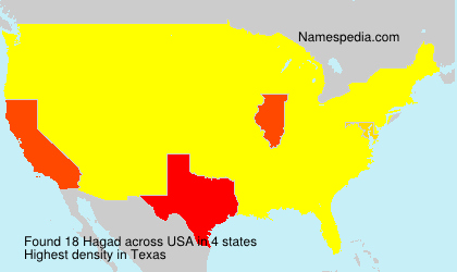 Surname Hagad in USA