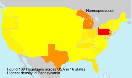 Familiennamen Hagelgans - USA