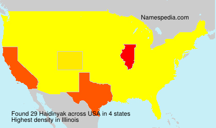 Haidinyak - USA
