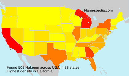 Surname Hakeem in USA