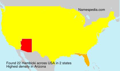 Hambicki - USA