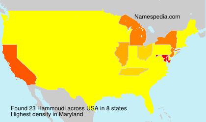 Surname Hammoudi in USA