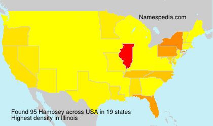 Surname Hampsey in USA