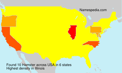 Surname Hamster in USA