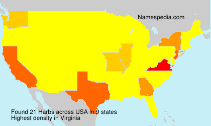 Surname Harbs in USA