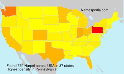 Harpel - Names Encyclopedia