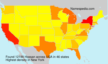 Surname Hassan in USA