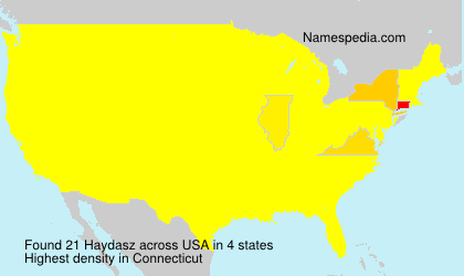 Surname Haydasz in USA