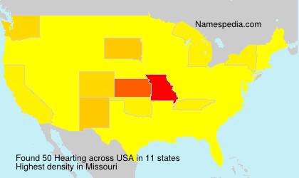 Surname Hearting in USA