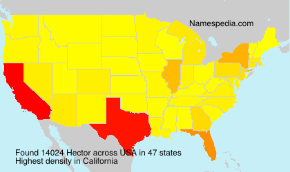 Surname Hector in USA