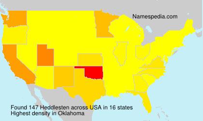 Heddlesten