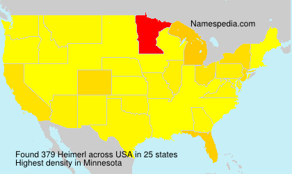 Surname Heimerl in USA