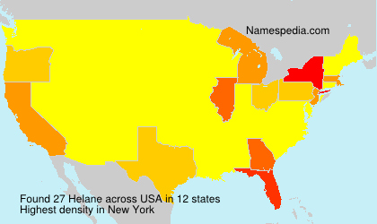 Surname Helane in USA