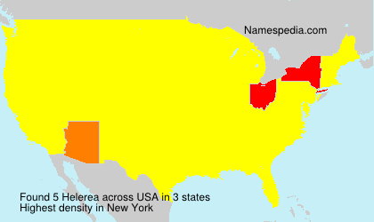 Surname Helerea in USA