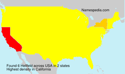 Surname Hellfeld in USA