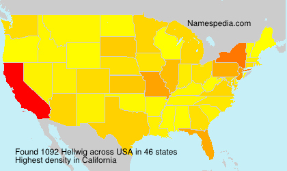 Surname Hellwig in USA