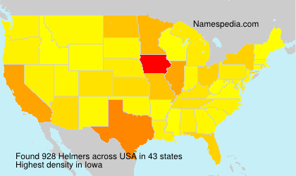 Surname Helmers in USA