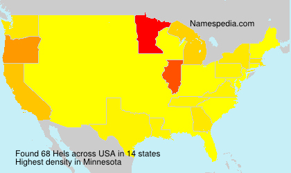 Surname Hels in USA