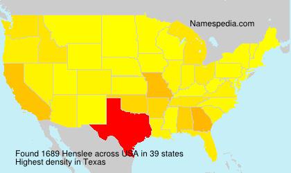 Henslee