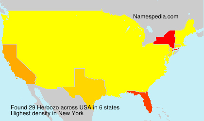 Surname Herbozo in USA