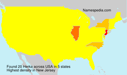 Surname Herka in USA