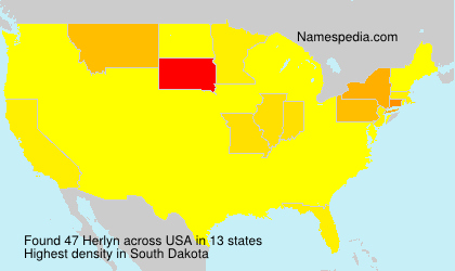Surname Herlyn in USA