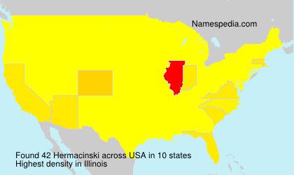 Surname Hermacinski in USA
