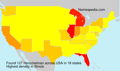 Surname Herschelman in USA