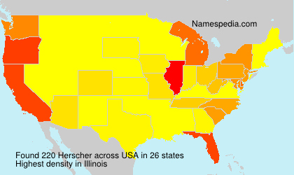 Surname Herscher in USA