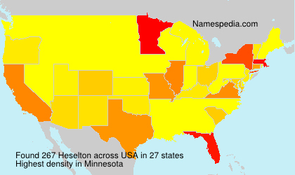 Surname Heselton in USA