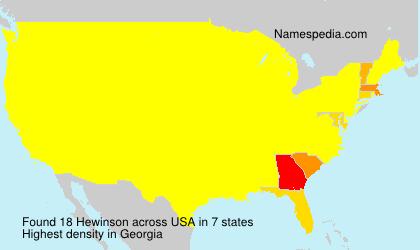 Hewinson