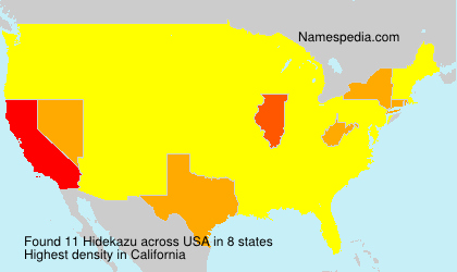 Surname Hidekazu in USA