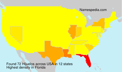 Surname Hijuelos in USA