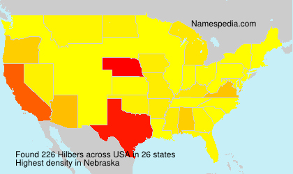 Surname Hilbers in USA