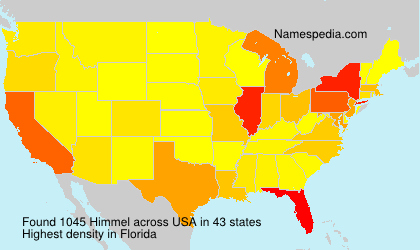 Surname Himmel in USA