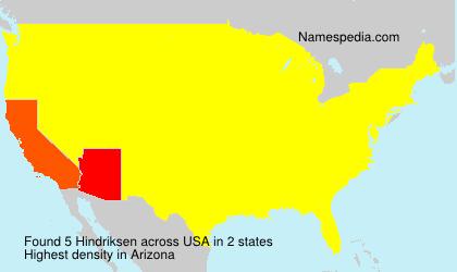 Hindriksen - USA