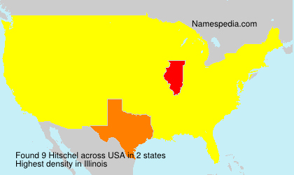 Surname Hitschel in USA