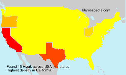 Surname Hizak in USA