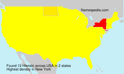 Surname Hlenski in USA