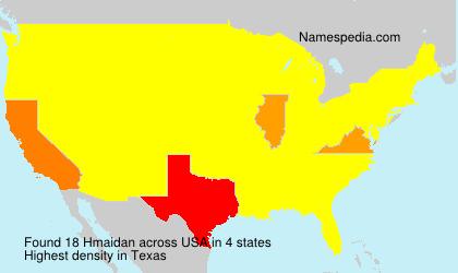 Surname Hmaidan in USA