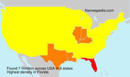 Surname Hmilton in USA