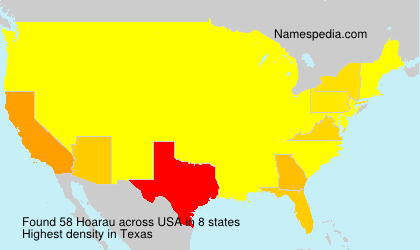 Surname Hoarau in USA