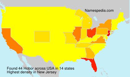 Surname Hobor in USA