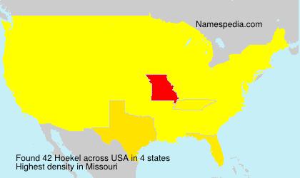 Hoekel - USA