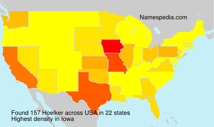 Surname Hoelker in USA