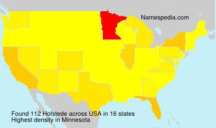 Hofstede - USA
